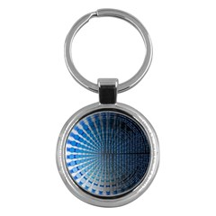 Data Computer Internet Online Key Chains (round)  by BangZart
