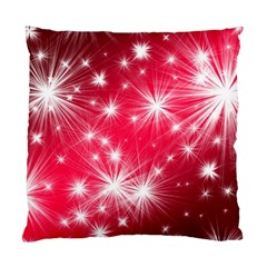 Christmas Star Advent Background Standard Cushion Case (two Sides) by BangZart