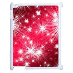 Christmas Star Advent Background Apple Ipad 2 Case (white) by BangZart