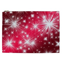 Christmas Star Advent Background Cosmetic Bag (xxl)