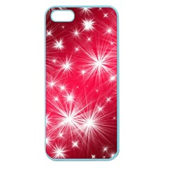 Christmas Star Advent Background Apple Seamless Iphone 5 Case (color)