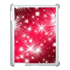 Christmas Star Advent Background Apple Ipad 3/4 Case (white) by BangZart