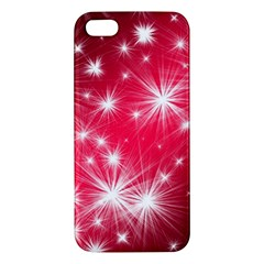 Christmas Star Advent Background Apple Iphone 5 Premium Hardshell Case by BangZart