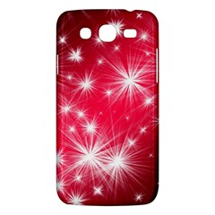 Christmas Star Advent Background Samsung Galaxy Mega 5 8 I9152 Hardshell Case  by BangZart