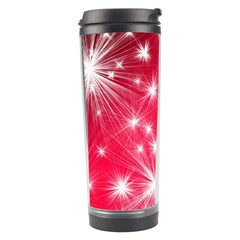 Christmas Star Advent Background Travel Tumbler by BangZart