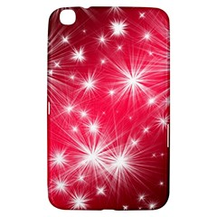Christmas Star Advent Background Samsung Galaxy Tab 3 (8 ) T3100 Hardshell Case  by BangZart