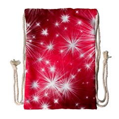Christmas Star Advent Background Drawstring Bag (large) by BangZart