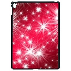 Christmas Star Advent Background Apple Ipad Pro 9 7   Black Seamless Case