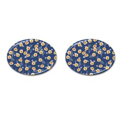 Golden Roses Cufflinks (oval) by jumpercat