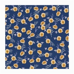 Golden Roses Medium Glasses Cloth by jumpercat