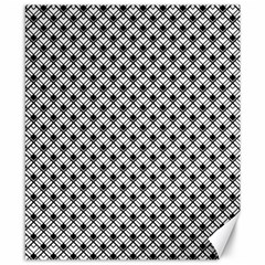 Geometric Scales Pattern Canvas 8  X 10
