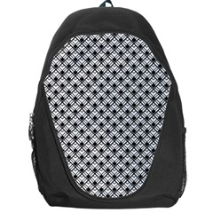 Geometric Scales Pattern Backpack Bag
