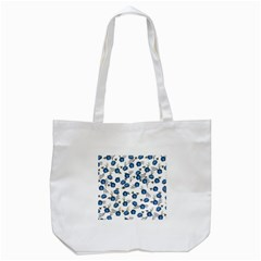 Blue Roses Tote Bag (white) by jumpercat