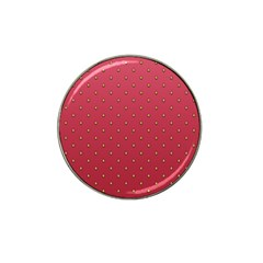 Strawberry Pattern Hat Clip Ball Marker (10 Pack) by jumpercat