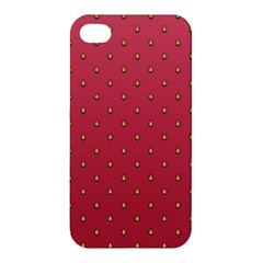 Strawberry Pattern Apple Iphone 4/4s Hardshell Case