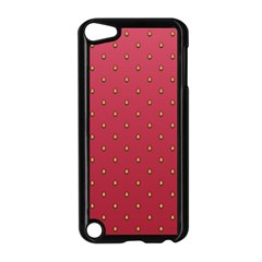 Strawberry Pattern Apple Ipod Touch 5 Case (black)