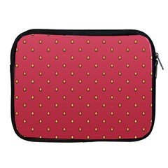 Strawberry Pattern Apple Ipad 2/3/4 Zipper Cases