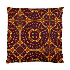 Geometric Pattern Standard Cushion Case (one Side) by linceazul