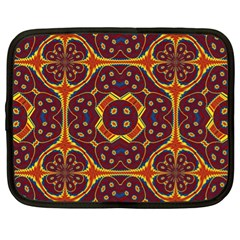 Geometric Pattern Netbook Case (xl)  by linceazul