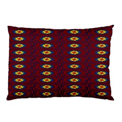 Geometric Pattern Pillow Case (two Sides) by linceazul