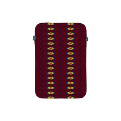 Geometric Pattern Apple Ipad Mini Protective Soft Cases by linceazul