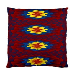 Geometric Pattern Standard Cushion Case (two Sides) by linceazul