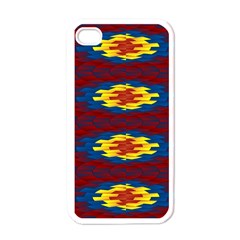 Geometric Pattern Apple Iphone 4 Case (white) by linceazul