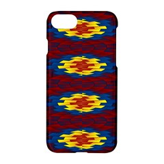 Geometric Pattern Apple Iphone 8 Hardshell Case by linceazul