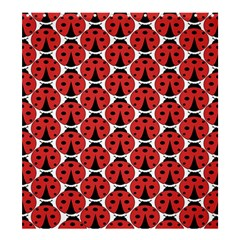 Ladybugs Pattern Shower Curtain 66  X 72  (large)  by Cveti