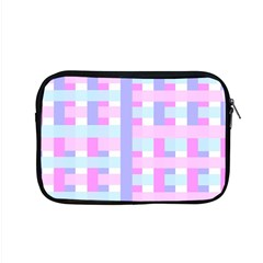 Gingham Nursery Baby Blue Pink Apple Macbook Pro 15  Zipper Case by BangZart