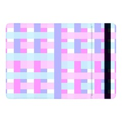 Gingham Nursery Baby Blue Pink Apple Ipad Pro 10 5   Flip Case by BangZart