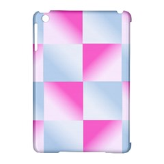 Gradient Blue Pink Geometric Apple Ipad Mini Hardshell Case (compatible With Smart Cover)