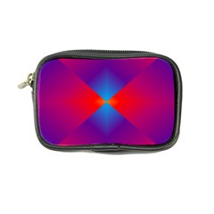 Geometric Blue Violet Red Gradient Coin Purse by BangZart