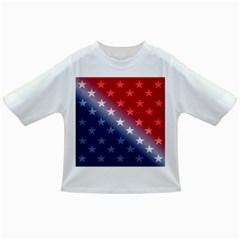 America Patriotic Red White Blue Infant/toddler T Shirts
