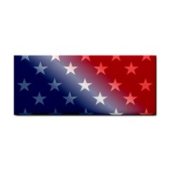 America Patriotic Red White Blue Cosmetic Storage Cases by BangZart