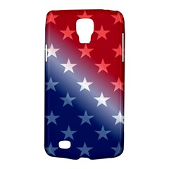 America Patriotic Red White Blue Galaxy S4 Active by BangZart