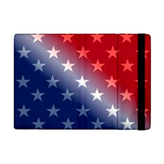 America Patriotic Red White Blue Ipad Mini 2 Flip Cases by BangZart