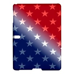 America Patriotic Red White Blue Samsung Galaxy Tab S (10 5 ) Hardshell Case