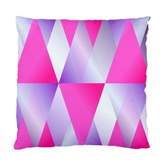 Gradient Geometric Shiny Light Standard Cushion Case (one Side)