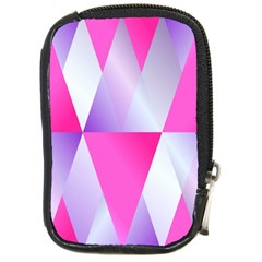 Gradient Geometric Shiny Light Compact Camera Cases