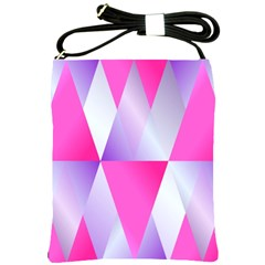 Gradient Geometric Shiny Light Shoulder Sling Bags by BangZart