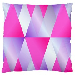 Gradient Geometric Shiny Light Large Cushion Case (two Sides)