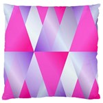 Gradient Geometric Shiny Light Large Cushion Case (Two Sides) Front
