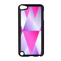 Gradient Geometric Shiny Light Apple Ipod Touch 5 Case (black) by BangZart