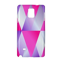 Gradient Geometric Shiny Light Samsung Galaxy Note 4 Hardshell Case