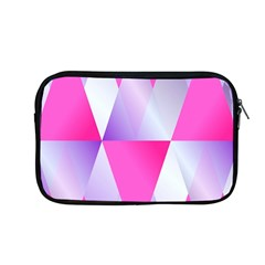 Gradient Geometric Shiny Light Apple Macbook Pro 13  Zipper Case