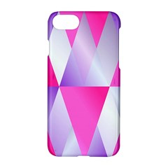 Gradient Geometric Shiny Light Apple Iphone 8 Hardshell Case
