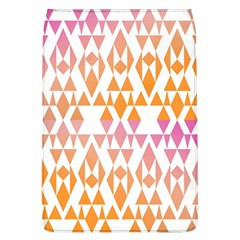 Geometric Abstract Orange Purple Flap Covers (l)  by BangZart