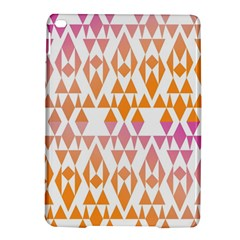 Geometric Abstract Orange Purple Ipad Air 2 Hardshell Cases