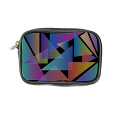 Triangle Gradient Abstract Geometry Coin Purse by BangZart